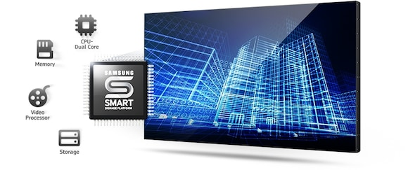 Samsung 55 UDD Series Video Wall | Samsung Commercial
